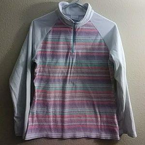 Girls columbia fleece pullover